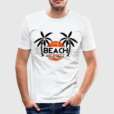 Beach Volleyball - slim fit T-shirt
