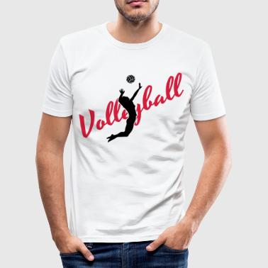 Volleyball Quotes Volleyball - Men's Slim Fit T-Shirt