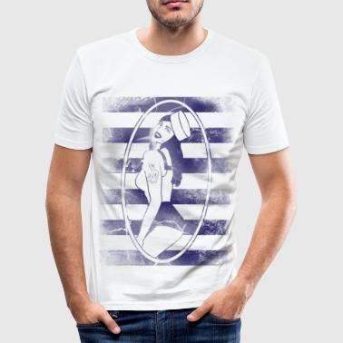 Hello, Sailoress - Men's Slim Fit T-Shirt