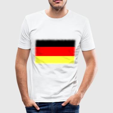 drapeau allemand - Männer Slim Fit T-Shirt