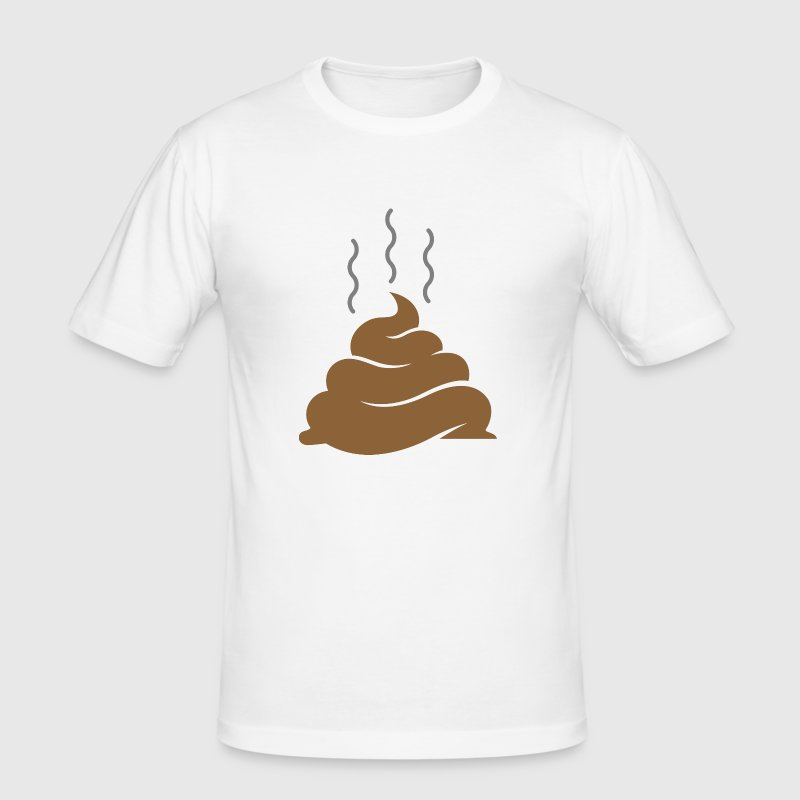 A pile of shit - Men's Slim Fit T-Shirt