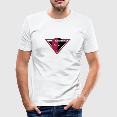 pantom_triangle_vec_3en - Men's Slim Fit T-Shirt