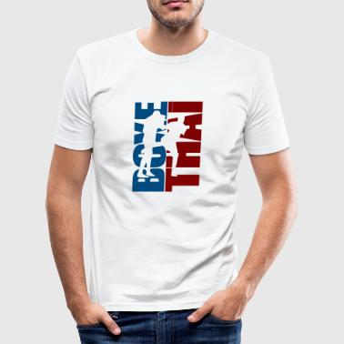 Thai Boxing - Men's Slim Fit T-Shirt