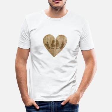 I Love Sex Love - Sex - Slim fit T-skjorte for menn
