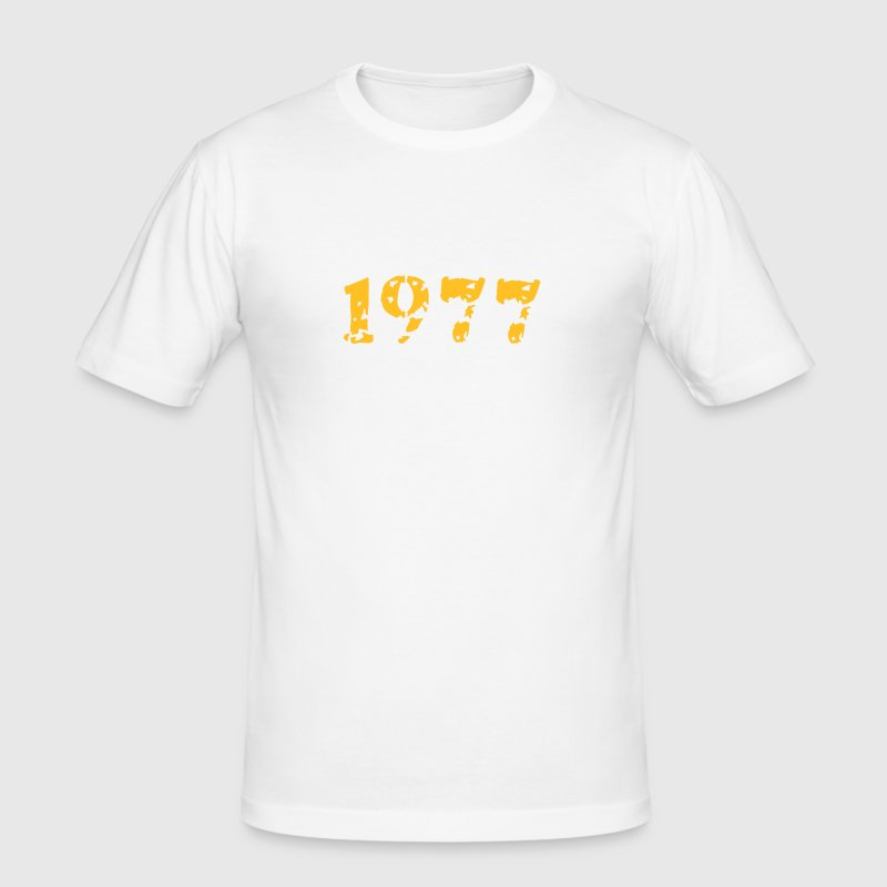 1977 - Männer Slim Fit T-Shirt
