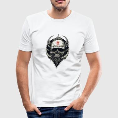 Devilish skull - Men's Slim Fit T-Shirt