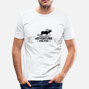 Sport ADVENTURE FOR EVER - HERT - slim fit T-shirt