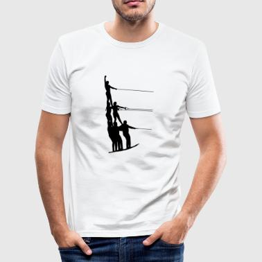 Water skiing water sports - Men's Slim Fit T-Shirt