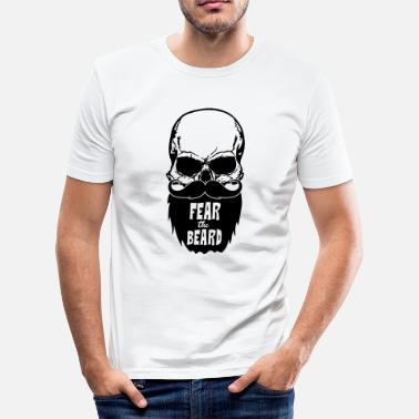 Fear Fear the beard - Men's Slim Fit T-Shirt