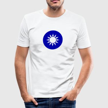 National Emblem Of Taiwan - Herre Slim Fit T-Shirt