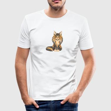 Main Coon Maine Coon - Slim Fit T-skjorte for menn