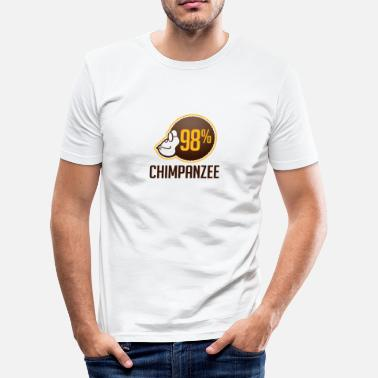 98 chimpanse - Slim fit T-shirt mænd