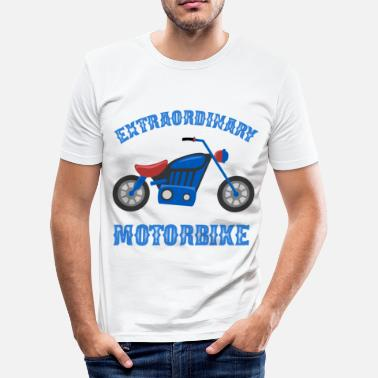 Biker Citater Motorcykel Rocker Citat Chopper Retro Bike Gave - Herre Slim Fit T-Shirt