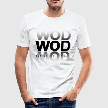 WOD Workout Of the Day - T-shirt près du corps Homme