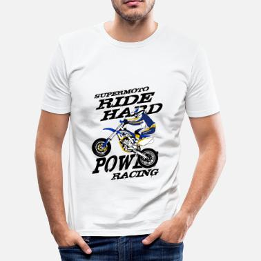 Race Supermoto - Supermotard - slim fit T-shirt