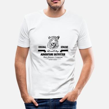 Serengeti Leopard - Männer Slim Fit T-Shirt