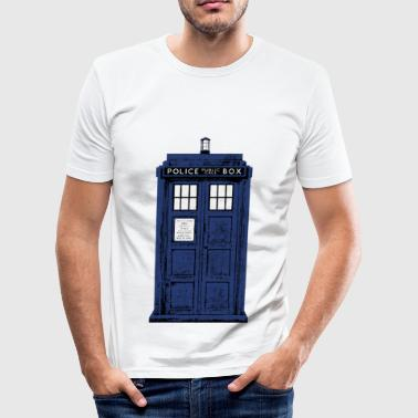 Police Box - Männer Slim Fit T-Shirt