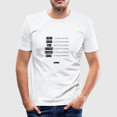 In Him - Männer Slim Fit T-Shirt