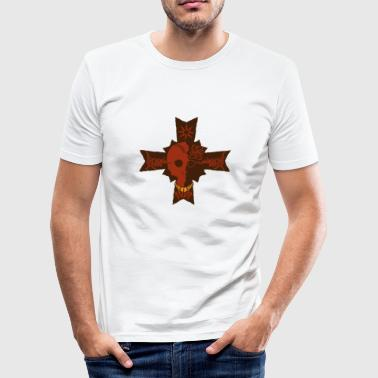 kitelegion_pirates_of_the_cross - Slim Fit T-skjorte for menn