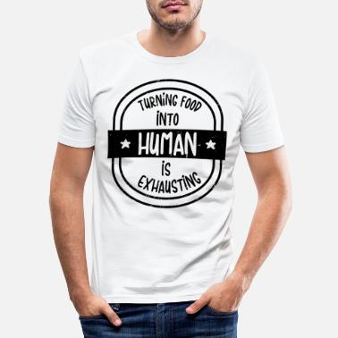 Juicy Turn food into people - Men's Slim Fit T-Shirt