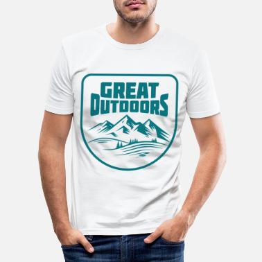 Outdoor Great Outdoors - T-shirt moulant Homme