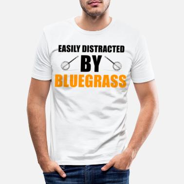 Bluegrass Bluegrass - Mannen slim fit T-shirt