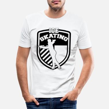Skate Skating Skating Skating Skating - Men's Slim Fit T-Shirt