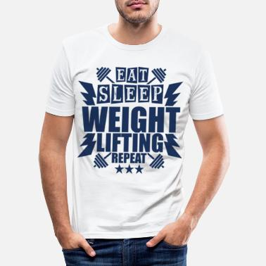 Weightlifter Weightlifter Weightlifter Weightlifter - Men's Slim Fit T-Shirt
