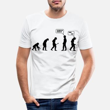 Swag Swag Yolo Evolution - T-shirt moulant Homme