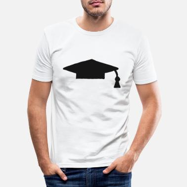 High School Graduate Graduate school graduation high school graduation - Men's Slim Fit T-Shirt