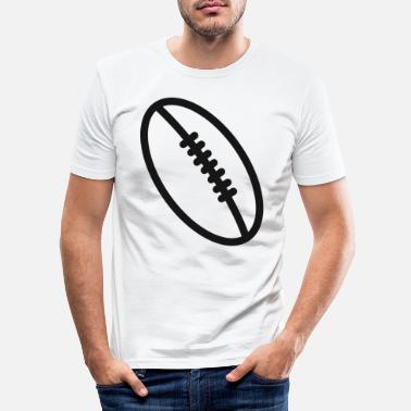 Present Rugby team football fan rugby team american football - Men's Slim Fit T-Shirt