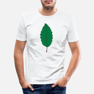 Leaf leaf - Männer Slim Fit T-Shirt