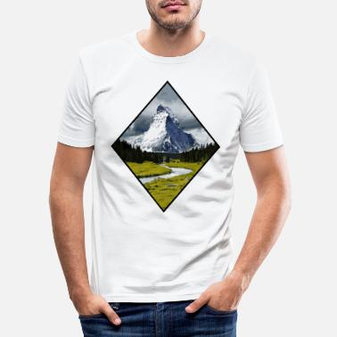 Summit PEAK summiteers - Men's Slim Fit T-Shirt