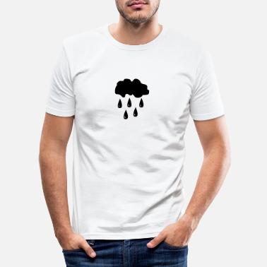 Rain Rain, rain cloud - Men's Slim Fit T-Shirt