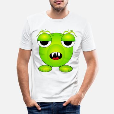 Monster Monster - Monster - Alien - Men's Slim Fit T-Shirt
