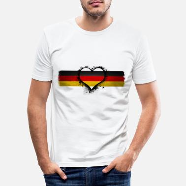 Germany Germany Germany Germany - Men's Slim Fit T-Shirt