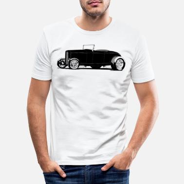 Ford Ford ' 32 roadster hi boy - T-shirt moulant Homme
