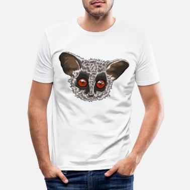 Baby Bushbaby Galago monkey gift idea - Men's Slim Fit T-Shirt