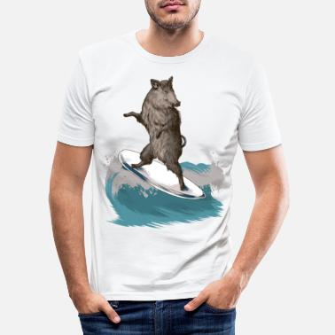 Severn Boar - Men's Slim Fit T-Shirt