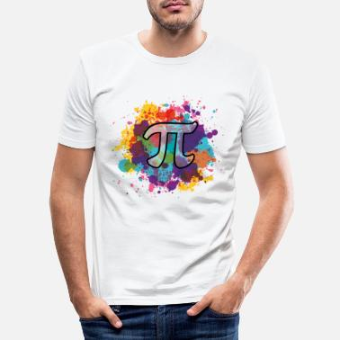 Pi pi - Men's Slim Fit T-Shirt