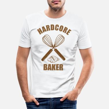 Bagare bagare - T-shirt slim fit herr