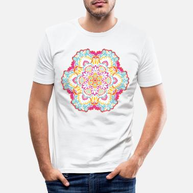Mutter Mandala Mexiko 2 - Männer Slim Fit T-Shirt
