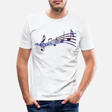 Audio Starry Notrad - T-shirt slim fit herr