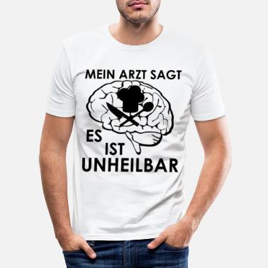 Restaurant koch - Männer Slim Fit T-Shirt