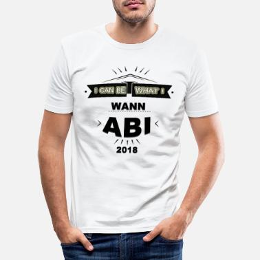 Abi ABI - T-shirt slim fit herr