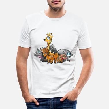 Tierkind Tierkinder 2 - Männer Slim Fit T-Shirt