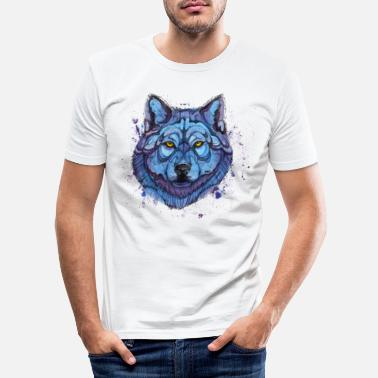 Animal Collection susi - Miesten slim fit t-paita