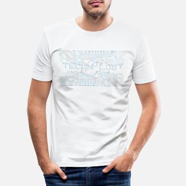 Technologie Technologie / technologie - T-shirt moulant Homme