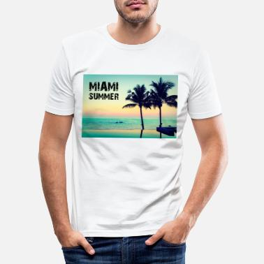 Miami MIAMI ESTATE - Maglietta slim fit uomo
