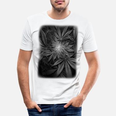 Cannabis MirrorDeeW Black - T-shirt moulant Homme